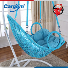 New Design Kids Swing Chair With Footrest