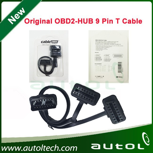 2015 Newest wholesale cableobd2 obd 16pin cable with fast shipping