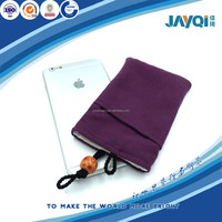 suede cell phone promotion pouches