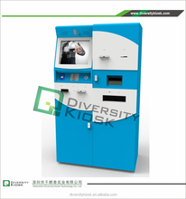 table turning stand bill validator payment kiosk