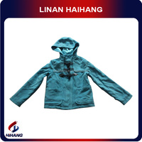 china hot sale toggles fasted hooded girls jacket adult size baby clothes manufacturer