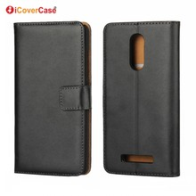 Hot Selling Cell Phone Funda Coque Leather Wallet Case Flip Cover for Xiaomi Redmi Note 4 4X 3 3s 3