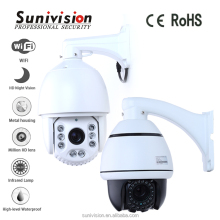 Dome cover 360 viewerframe mode PTZ ip camera with ir night vison 100 meters Security camera