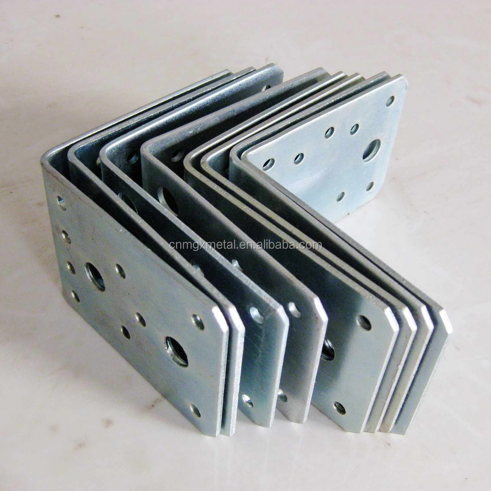 High Quality Zinc Plated L Shape Sheet Metal Stamped Part