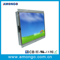 15 inch Resistive touch screen industrial lcd monitor