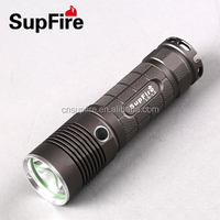 Rechargeable 10w High Power 1100lm CREE T6 uv led flashlight