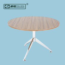 Round Contemporary Design Wooden Coffee Table