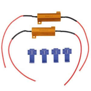 2 LED Bulb Load Resistor Turn Signal Flash Controller