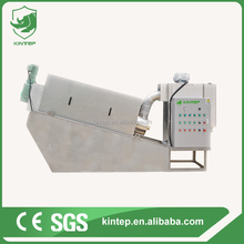best sell screw filter press with KINTEP technology with low price