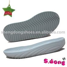 EVA and Rubber Mixed shoe soles for men