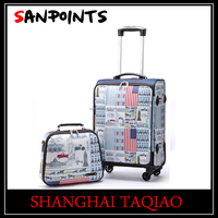 Whole sale Sanpoints new products suitcase and makeup case
