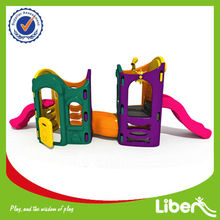 Outdoor Plastic Playground Slide for Kid's LE-HT019