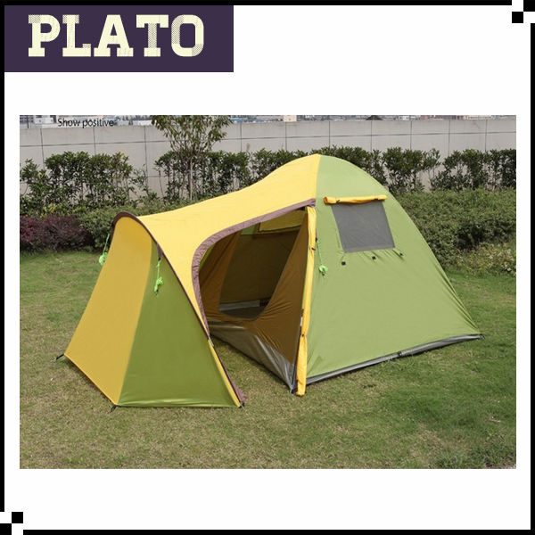 Double layer lovers tent , family tent with one bedroom and living room, camping tent