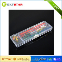 140pcs U Shape Solderless Breadboard Jumper Cable Wire Kit Box DIY Shield For Arduino