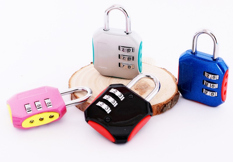 CH-008H Professional Supplier Adjustable Alloy password padlock for bag