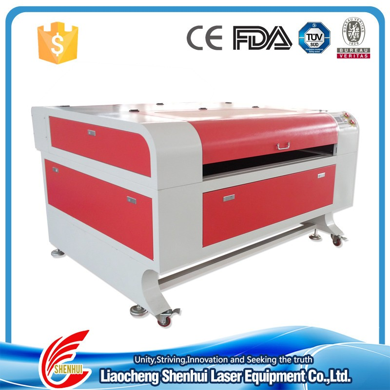 SH G1060 low cost ccd camera laser cutting machine for sale