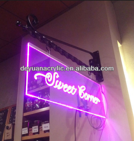 Custom LED Acrylic Sign with Wholesale Price