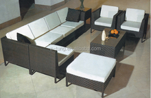 ZT-3110S sectional cane sofa furniture