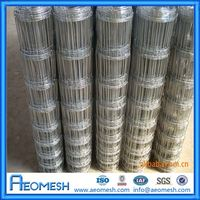 Metal Post Wire Mesh Electric Sheep & Goat Fence/ Cheap Grassland Fence/ High Tensile Pasture Fence