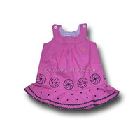 wholesale baby girls summer dress boutique high quality cheap dress