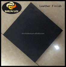 black premimum leather finish granite