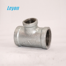 Galvanized Malleable Iron Tee Galvanized Cast Iron Pipe Fittings Barred Tee