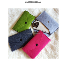 Felt material mobile phone carry bag best promotional gift