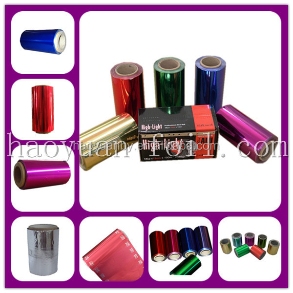 pop-up Pre-cut aluminum hair color Foil Sheet for hairdressing salon Beauty