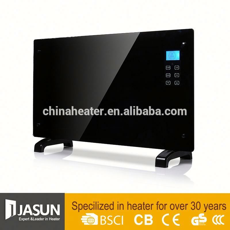 Types home electric wall panel convector heater glass infrared ceramic heater