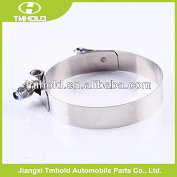 W2 Tubing pipe T type loaded hose clamp with 19mm bandwidth super factory