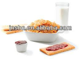 Extruded Breakfast Cereals Snacks Food Production Machine