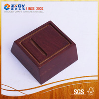 wooden trophy base / wooden base crafts / square wooden base stand