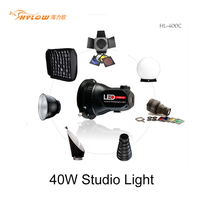 400C 40W Camera Portable LED Photography Light with Remote control