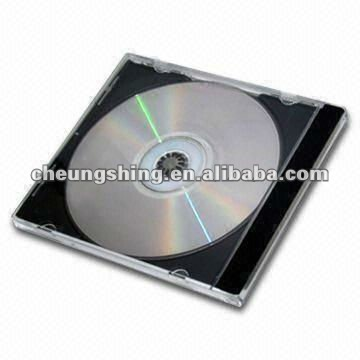 Wholesale 10.4mm plastic cd jewel case single cd case for Asian Europe USA