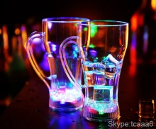 Bar Promotional Led Light Up Whisky Drinking Glass Led Shot Glass