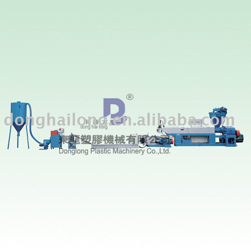 Double-ranks Plastic Pe Film Recycling and Granulating Line