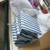 T/C 23*23 88*60 cotton blue and white striped fabric for hosptial