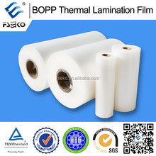 BOPP transparent glossy film for laminating