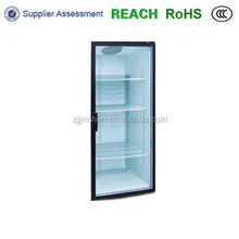 display freezer glass door single door