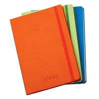 Office Supplies Leather Notebook With Elastic