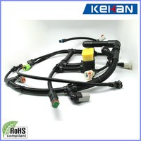 OEM/ODM ROHS compliant excavator wiring harness, wire rope cable assemblies, oem headlight assembly