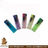China transparent electronic adult lighters