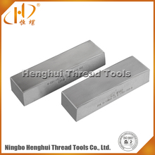 ISO high quality D2 popular material flat thread rolling dies in hot sales