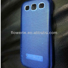 FL660 Guangzhou mesh metal case for Samsung Galaxy S3 ultra thin case Radiating case for galaxy s3 STOCK MARKET