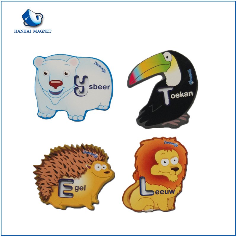 3D Soft PVC Rubber Refrigerator Magnets/ Magnets for Refrigerator for Kids Home Decoration