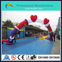 2015 inflatable wedding arch for sale/inflatable customized arch for sale