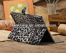 Sexy Fashion leopard style Cases for Ipad mini covers,fancy leather case for ipad