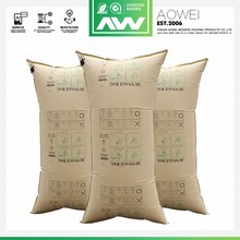 Cheap Price Avoid Transport Cargo Damages Brown Kraft Paper Dunnage Air Bag