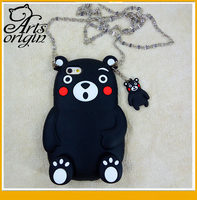 NEW 3D Cute Bear Standing Soft Silicon phone Case For Iphone 5 5s 6 6s 6 plus