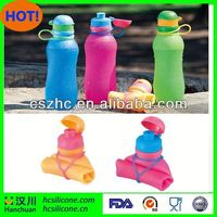 kids foldable water bottle,insulated tumbler with foldable straw,pp foldable water bottle